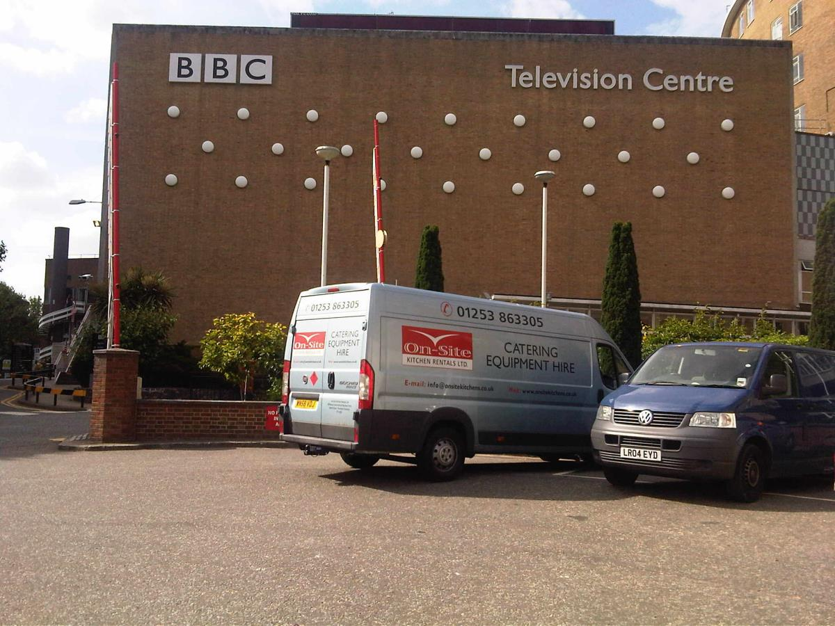 Our units can often be found off camera at BBC location shoots up and down the country.